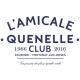 """Débardeur femme """"Amicale Quenelle Club"""""""