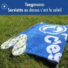Lot spécial Plage (Tong + Serviette)