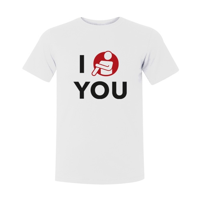 "T-shirt "" I QUENELLE YOU """