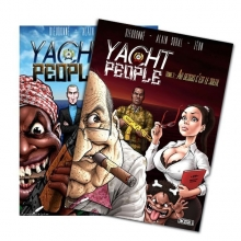 "Lot de 2 BD ""Yacht People"" Tome 1 & 2"