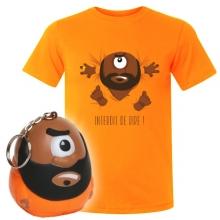 Lot Interdit : T-shirt + Porte clés