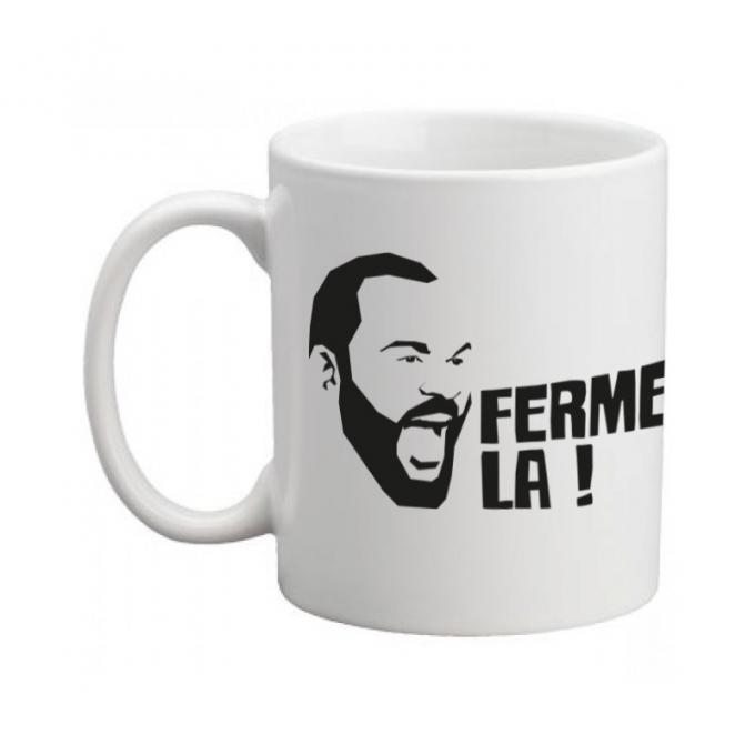 """Mug """"ferme la """"visage dieudonné"""