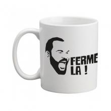 """Mug """"visage Dieudonné Ferme-la"""""""