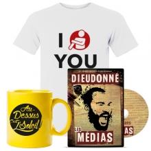 Lot Spécial les médias (T-shirt, Mug, DVD)