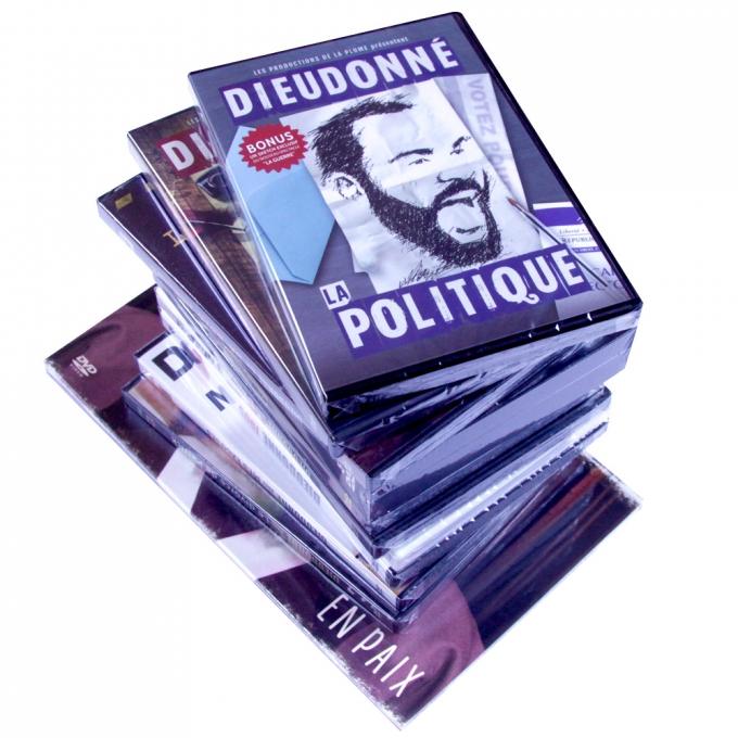 L'INTEGRALE DE DIEUDONNE EN DVD