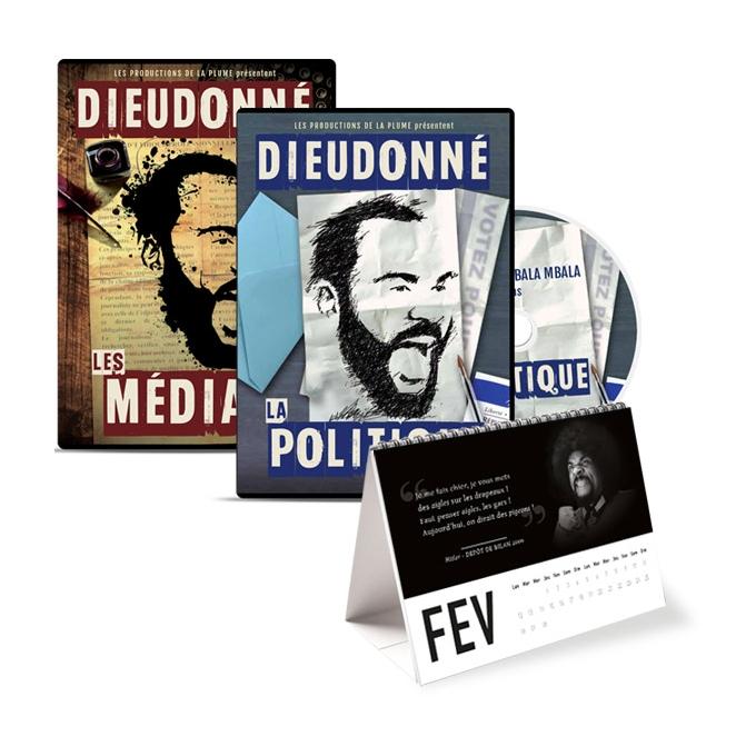 Lot 2 DVD : Les médias et la politique +poster dédicacé offert