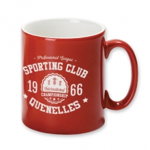 MUG ROUGE SPORTING CLUB QUENELLES