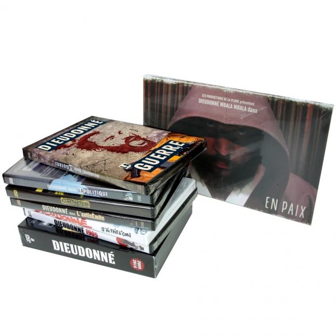 La collection Dieudonné en DVD