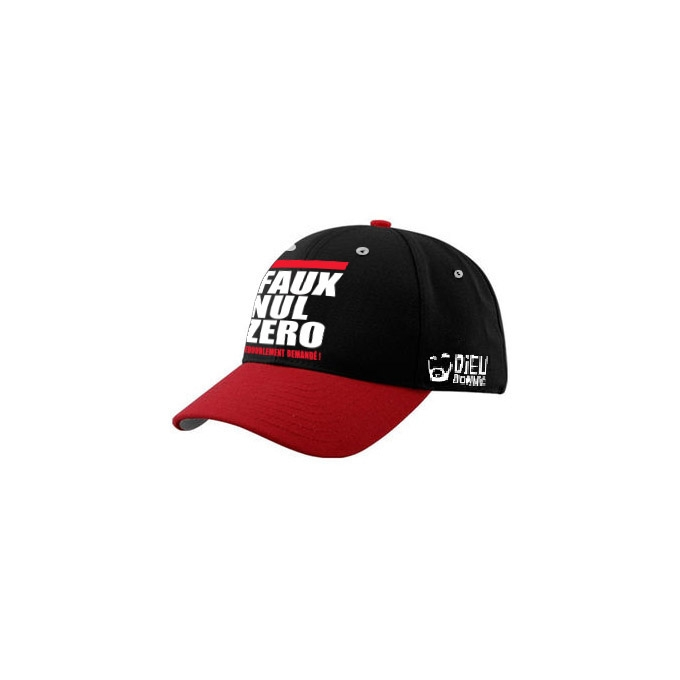 Casquette snapback sporting club quenelle