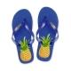 Tongs Ananas Bleu