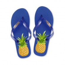 Tongs Ananas Bleu