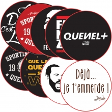 Stickers phrase culte