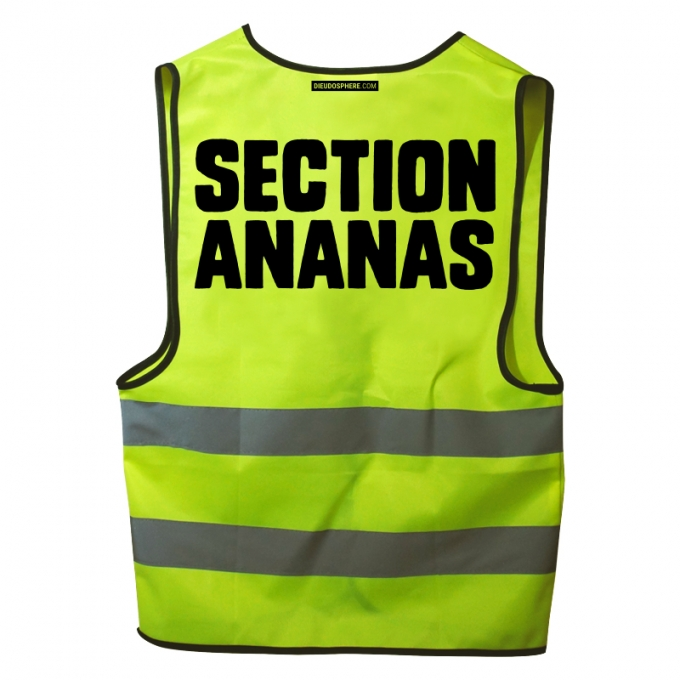 "Gilet jaune ""section ananas ?"""