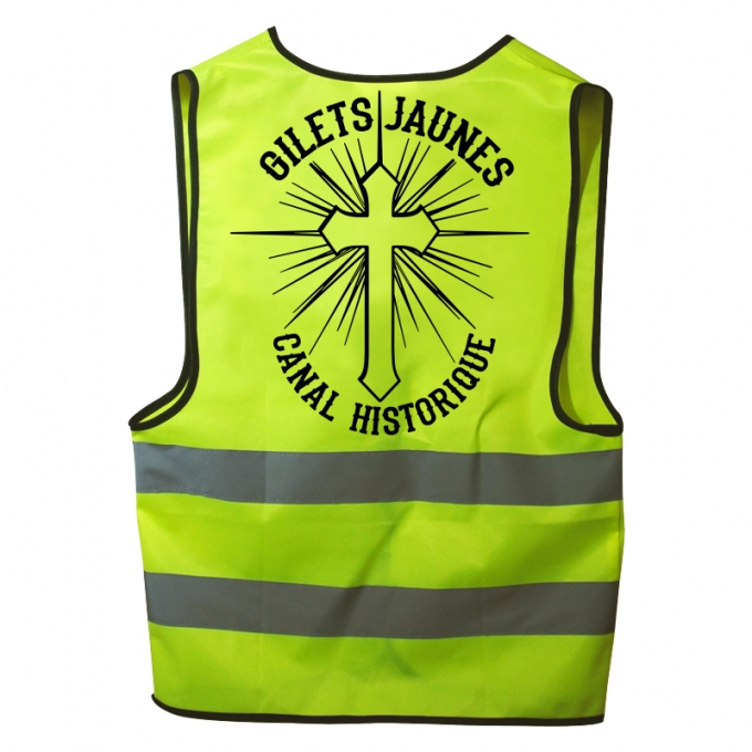 "Gilet jaune ""section ananas """