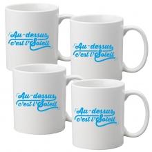 lot 4 tasses à café