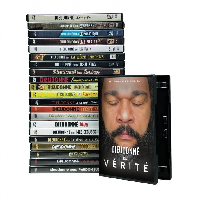 L'intégral de Dieudonné en DVD