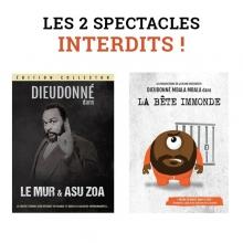 Lot Spécial DVD Spectacles Interdits