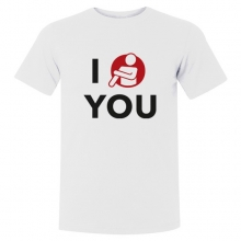 "T-shirt ""I Quenelle You"""