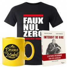 Lot Noël : T-shirt + Livre + Mug Dieudonné
