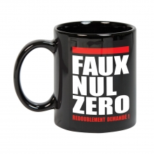 "Mug ""faux nul zero"""