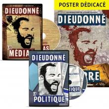 Lot 2 DVD : Les médias + La politique + poster dédicacé offert
