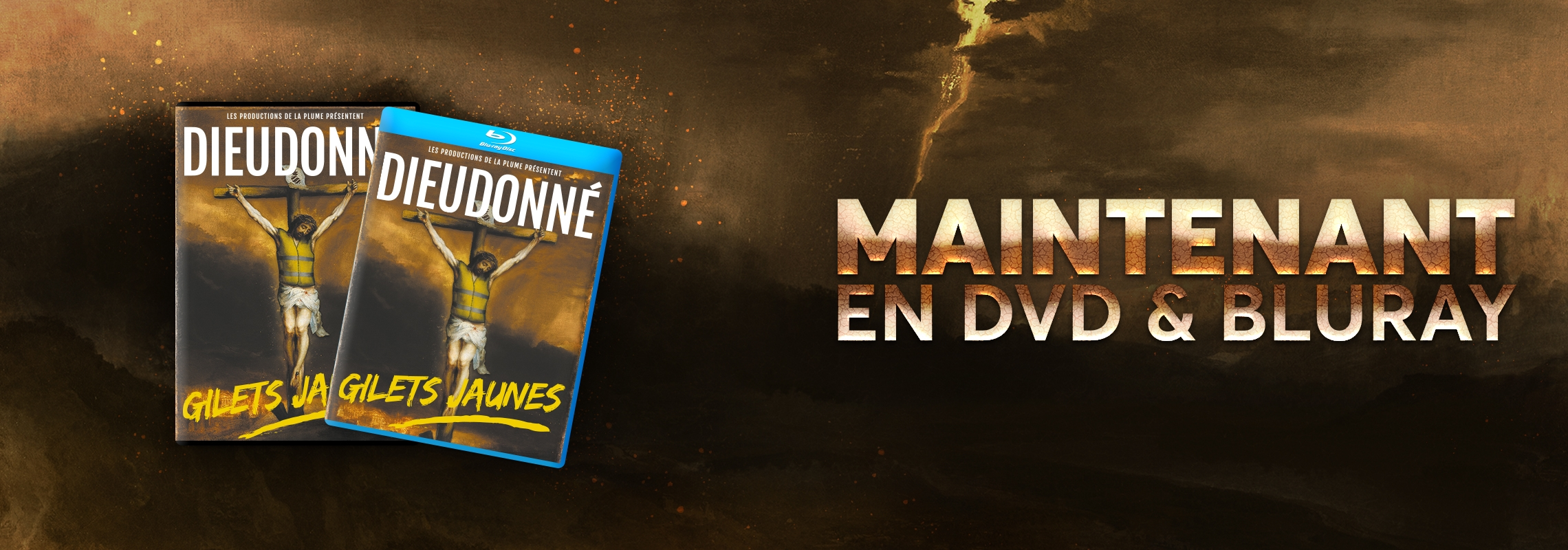 Gilets Jaunes en DVD et Bluray
